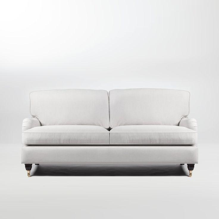 Mayfair Howardsoffa 2,5-sits Vit från Formaterial – Köp online på Rum21.se