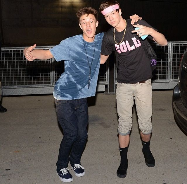 Cameron Dallas and Taylor Caniff: Magcon Boys, Happy Birthday, Cameron Dallas, Magcon Familyvin, Internet Boys, Familyvin Boys, Birthday Taylors, Favorite Magcon, Taylors Caniff3