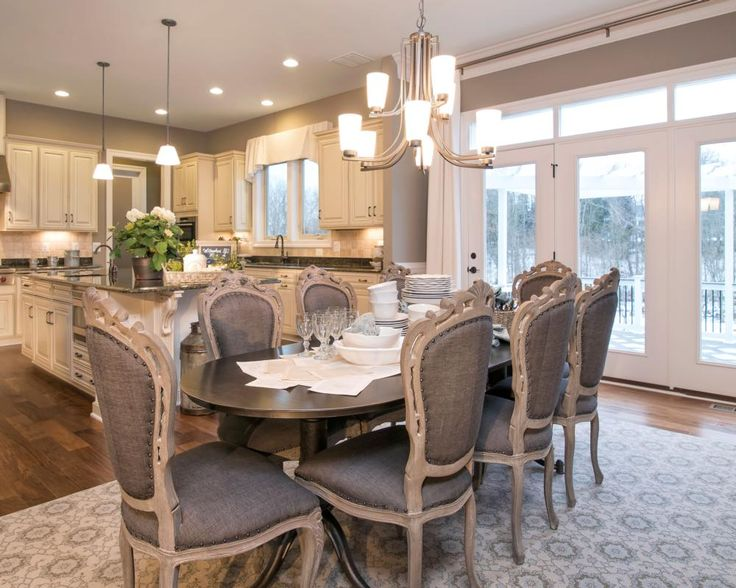 Whitman Model By Exclusively In Willowsfordlove The Open Concept Find This Pin And More On Dining Room Lighting