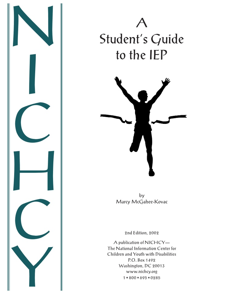 46 best advocacy for special needs images on pinterest special students guide to their iep self advocacy fandeluxe Choice Image