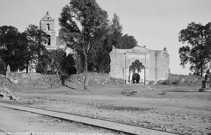 Ca. 1880 Iglesia de San Marcos Evangelista. Mexicaltzingo.…   Flickr