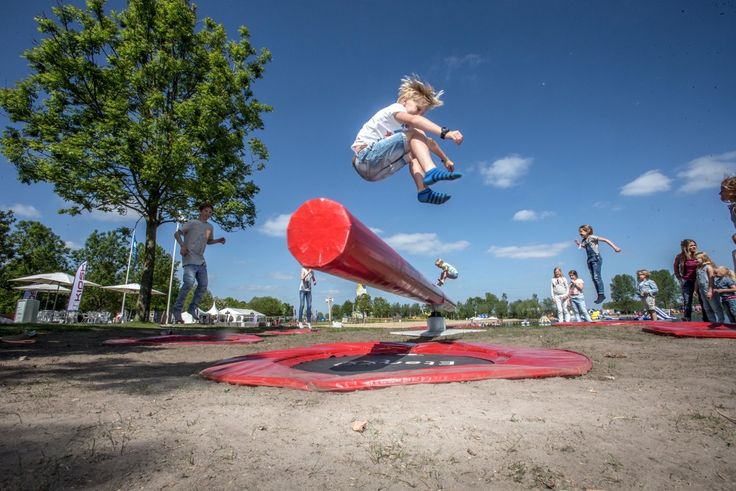 WipeOut kids, het stoerste kinderfeestje van Nederland! (niet voor watjes)