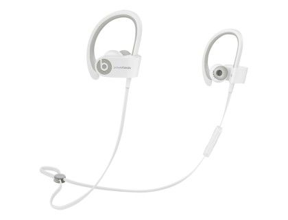 Beats by Dr. Dre - Powerbeats2 Wireless Earbud Headphones - White - Front Zoom