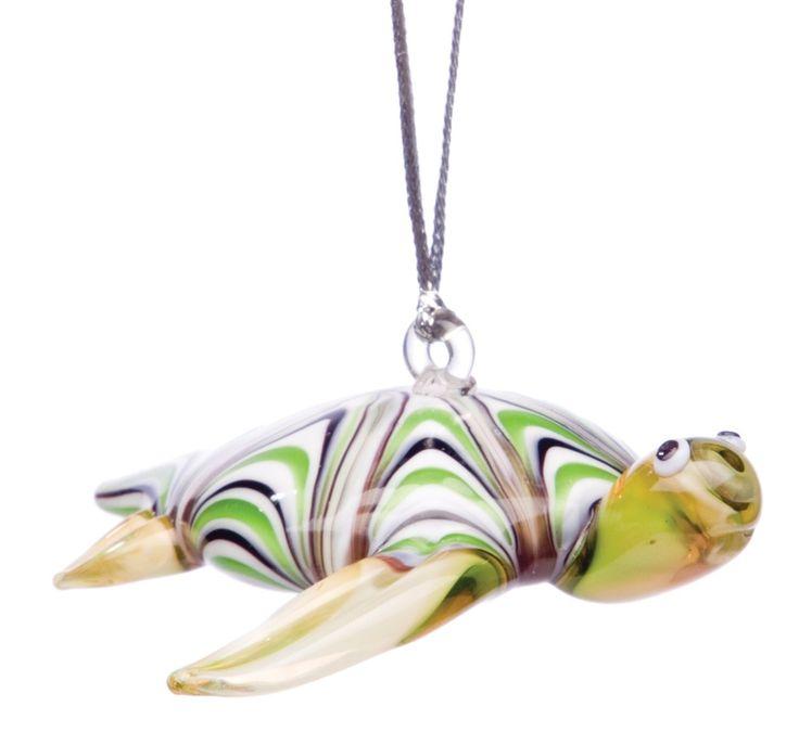 Texas State Aquarium Online Store Green Sea Turtle Ornament