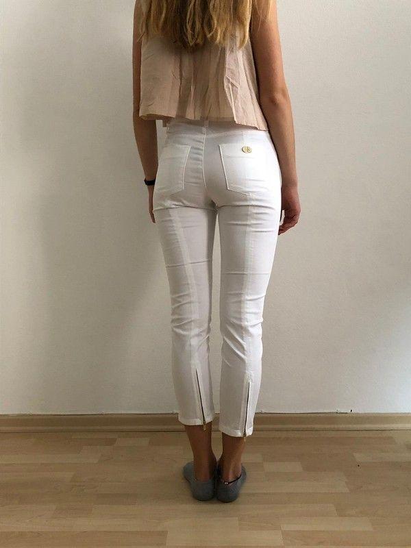 c54162afe5 Cambio Hose eng Röhre Jeans weiß - kleiderkreisel.de | Sexy in ...