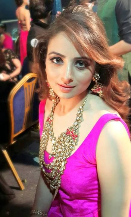 The Xpose Actress Zoya Afroz In Yellow Dress