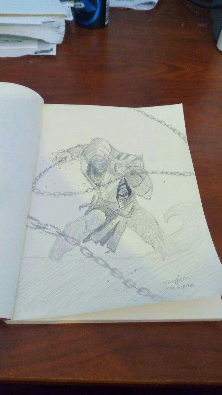 Scorpion sketch