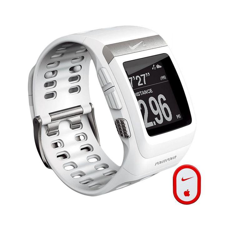 Nike + SportWatch GPS w/Sensor Monitors