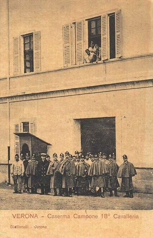 Verona - Caserma Campone - 18° Cavalleria
