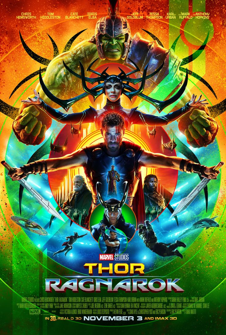 Check out the new movie trailer and poster for THOR RAGNAROK that was just released at San Diego Comic-Con. #ThorRagnarok #Thor
