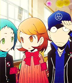 my post pq Persona 3 Minato Arisato Akihiko Sanada Yukari