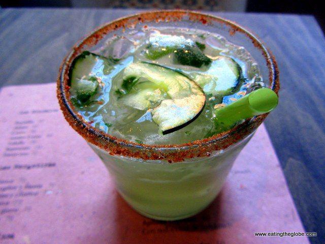 4 Of The Best Margaritas In San Miguel de Allende, Mexico  Cucumber and Mint Mezcal Margarita at La Mezcalería
