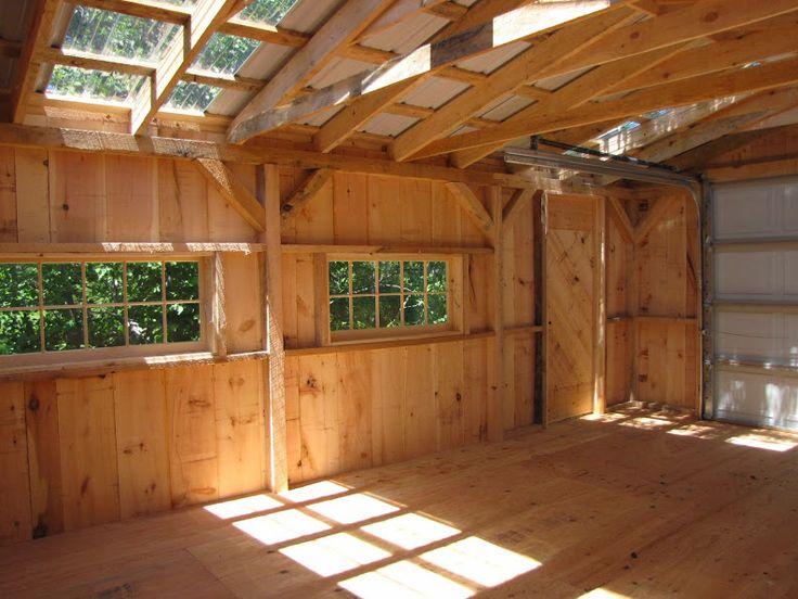 One Bay Garage   Diy shed plans, Shed plans, Building a shed