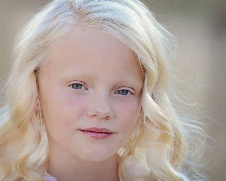 Natural Platinum Blonde Hair Kids