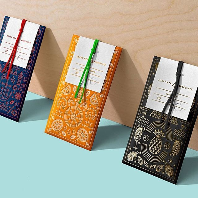 WEBSTA @ mindsparklemagazine - Rocky Mtn Chocolate Rebranding by @wedgeandlever #beauty #beautiful #branding #corporatedesign #chocolate #chocolates #packaging #packagingdesign #modern #minimal #mindsparklemag #logo #logoinspiration #colorful #graphicdesign