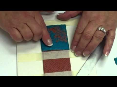Sutton Slice | Polymer Clay Tutorial | DIY Cabochon | Textures di Lisa Pavelka - YouTube