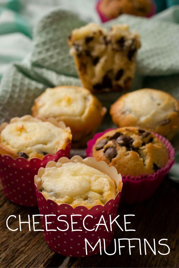 Cheesecake Muffins zum Verlieben