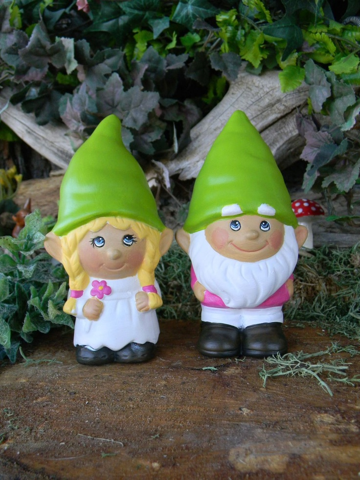 Wedding Cake Topper Gnome