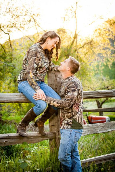 We will have camo in our engagement pictures :) if you know us you'd know why