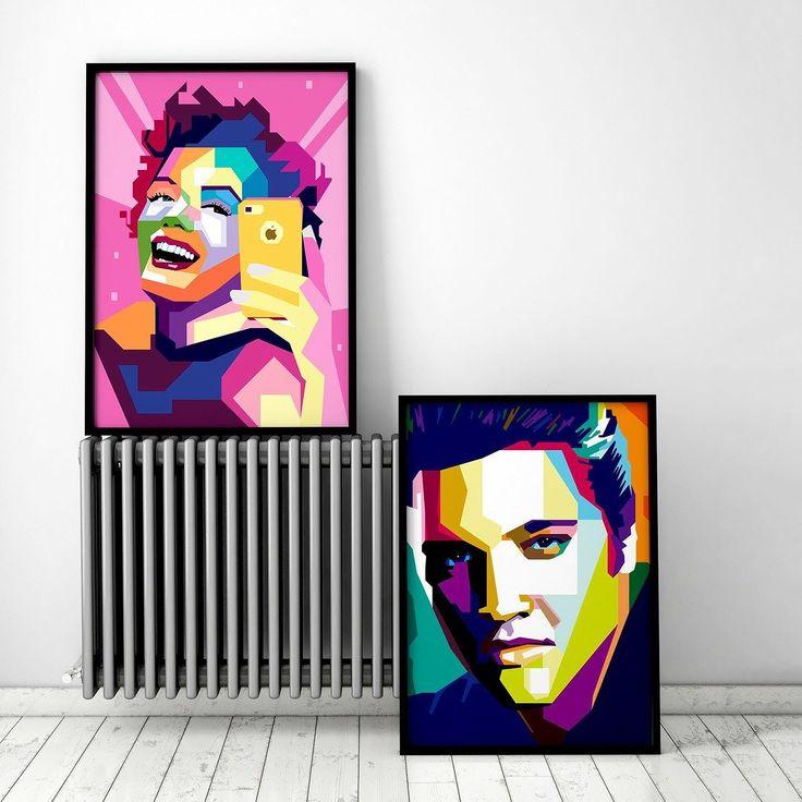 Tid for konkurranse! Vi trekker to heldige vinnere som vil få tilsendt sin favorittplakat (verdi opp til kr 1000). For å delta i trekningen må du reposte din favoritthelt fra oss. Bruk #2019no og tagg oss i bilde. Vinneren trekkes på søndag. Det er lov å delta flere ganger. Lykke til! _  I virkeligheten møttes vakre Monroe og kjekke Elvis kun engang! Årsak? Elvis likte yngre jenter og Monroe foretrakk eldre menn.. Men vi er sikker på at Monroe og Elvis hadde vært venner på Snapchat hvis de…