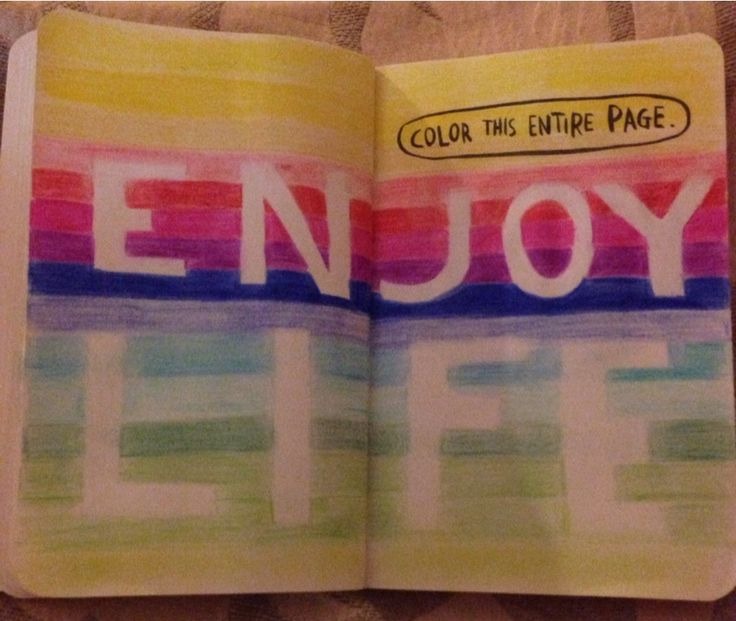 Color Journal Ideas : 102 best images about wreck this journal on pinterest