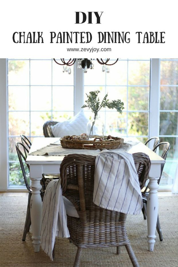 Best 25 Chalk Paint Dining Table Ideas On Pinterest  Chalk Paint Prepossessing Chalk Paint Dining Room Chairs Inspiration