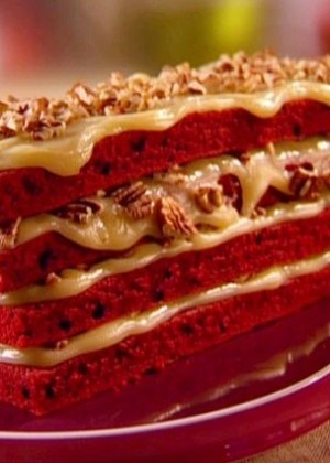 Grandma's Red Velvet Cake Recipe : Sunny Anderson : Food Network