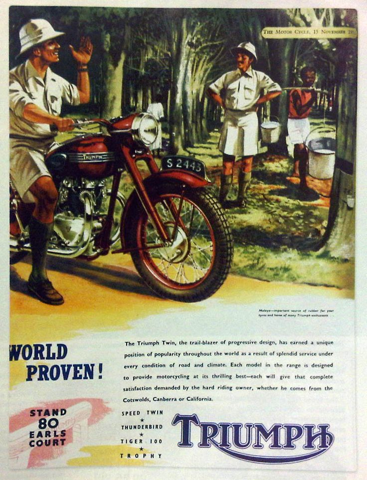 the 107 best images about vintage & classic motorbike adverts on