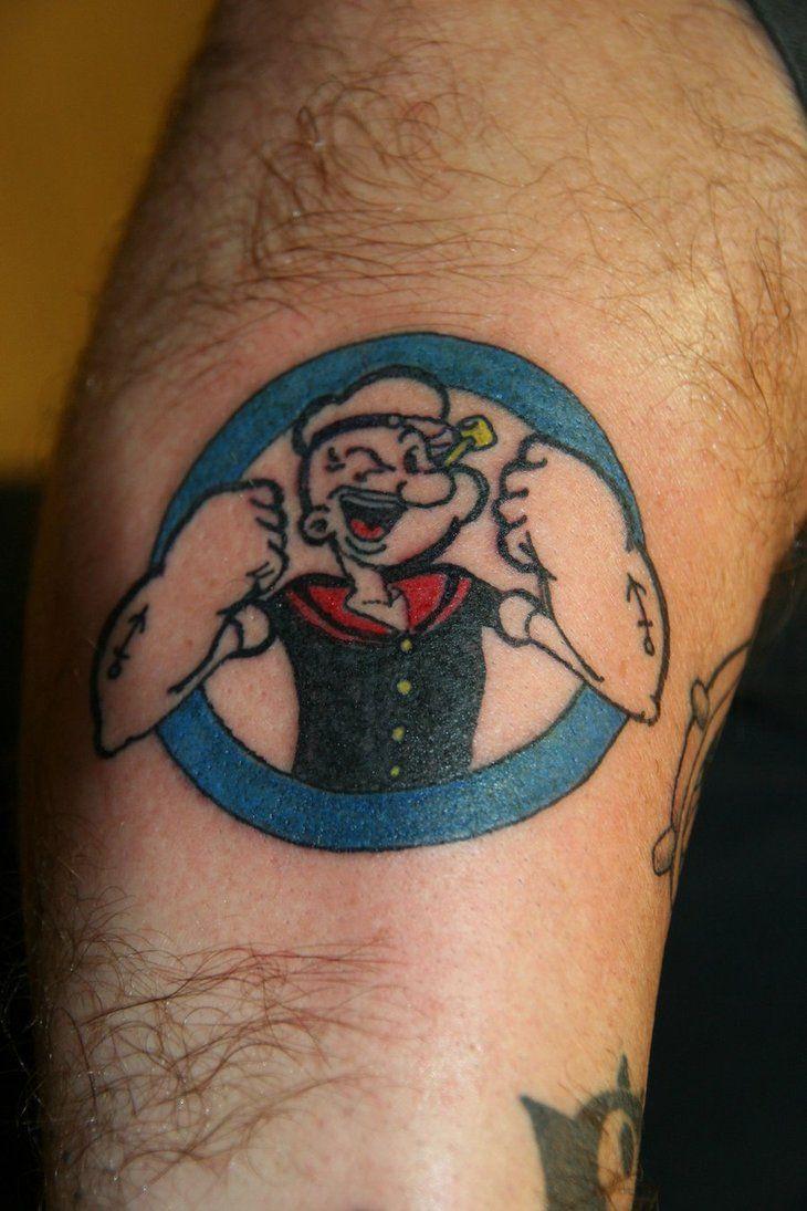 Popeye Tattoo by ~DBASHAUN on deviantART