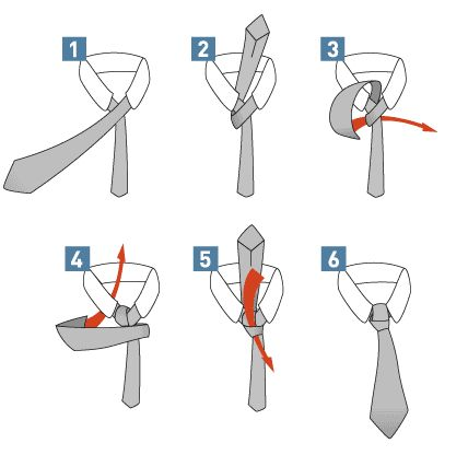 Krawatte binden - Einfacher Windsorknoten