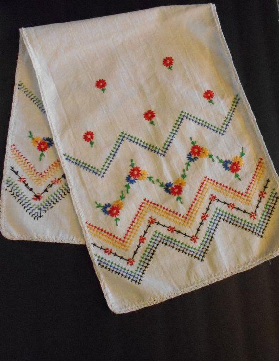 hand-embroidered-vintage-kitchen-towel
