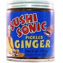 Sushi Sonic Pickled Sushi Ginger (12x6Oz)