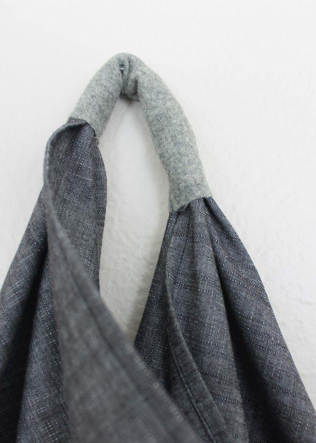 Winter Wardrobe No. 6 – Triangle Bag with Tutorial — Sew DIY