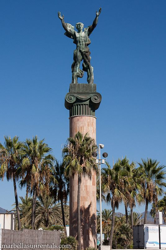 Victory statue in Puerto Banus - Marbella   Monuments and ...