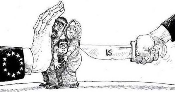 Το πιο ωραίο αντιρατσιστικό σκίτσο για τους πρόσφυγες