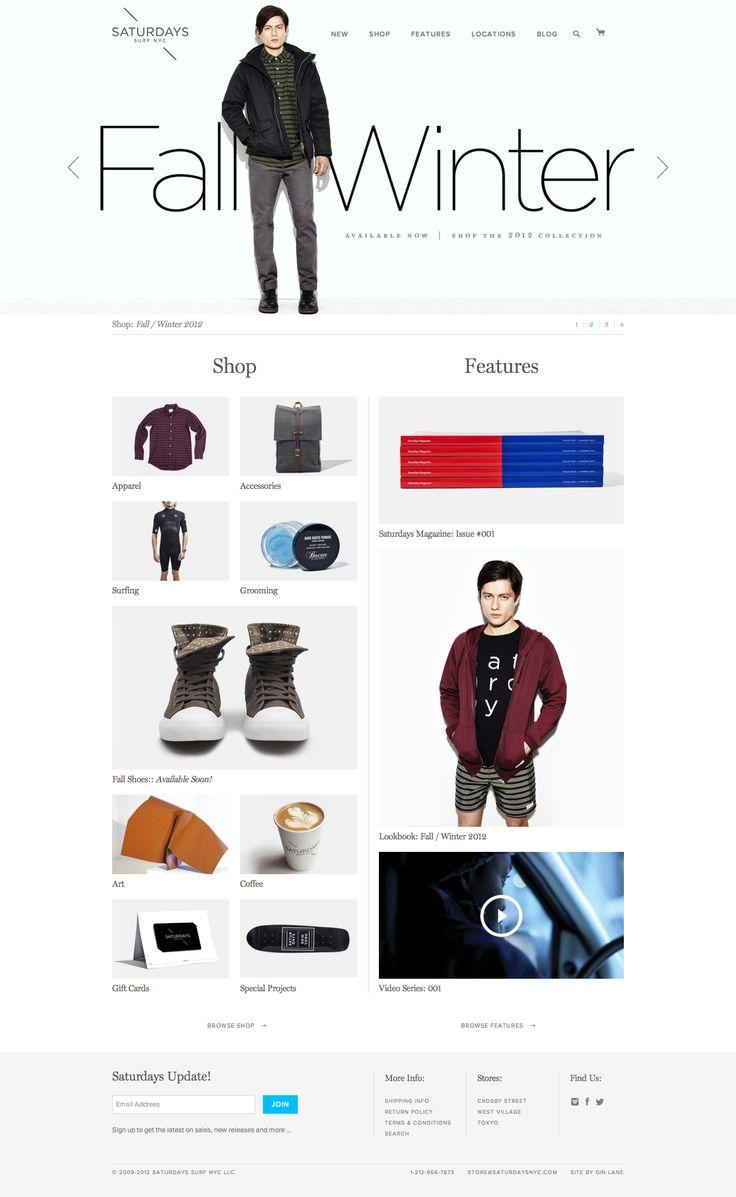 Web graphic design. E-commerce layout. Inspirational mockup.