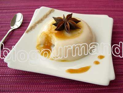 Flan de riz au lait d'amandes, sirop d'agave et curcuma - Blog cuisine bio - Recettes bio Cuisine bio sans gluten sans lait