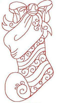 Christmas Stocking Drawing Easy.Showing Post Media For Easy Stocking Drawing Ideas Www