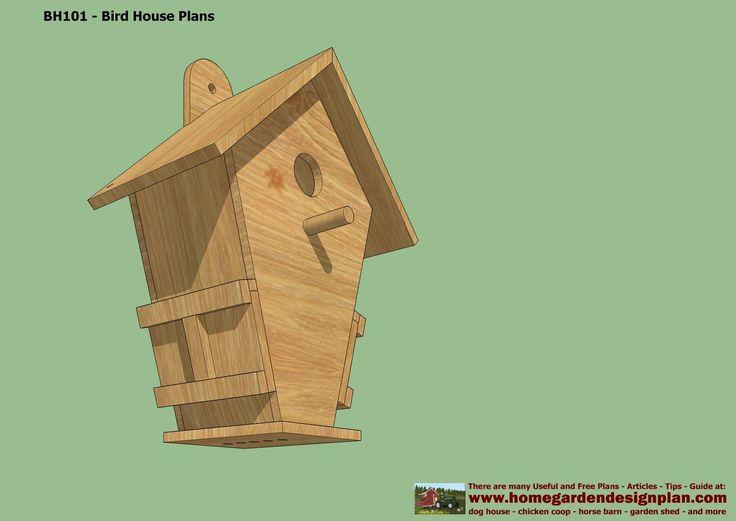 Free Bird House Patterns Bird House Plans Free