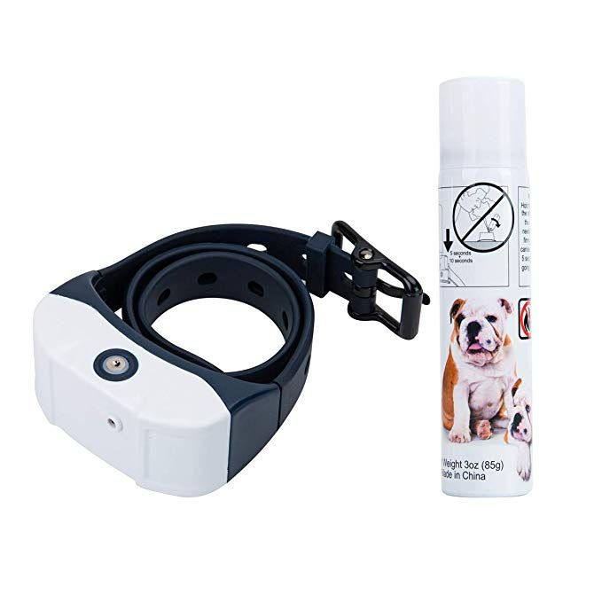 Jing Cheng Newest 2019 Dog Bark Spray Collar Rechargeable
