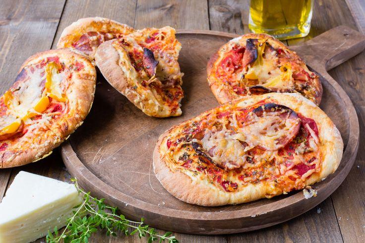Thermomix Mini Pizzas