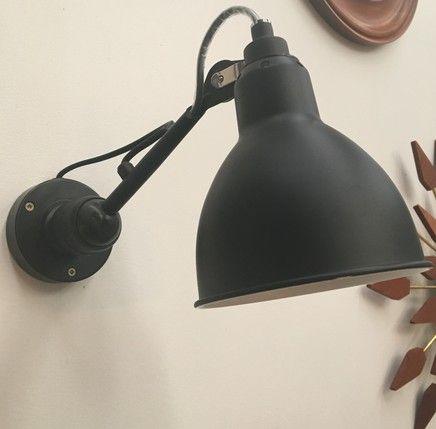 Bedside Light - Mr Ralph | Small Metal Adjustable Wall Light - Black - ESSENTIALS, Wall Lights