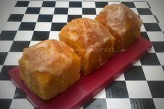 Recetas para engordar...: Budincitos de pomelo rosado