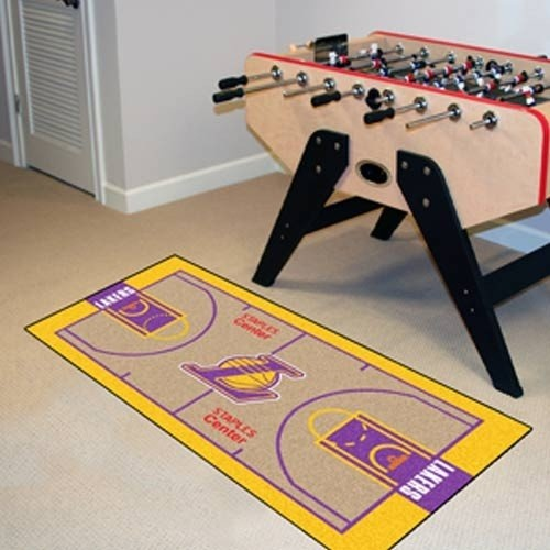 Nba Los Angeles Lakers Court Runner Support Your