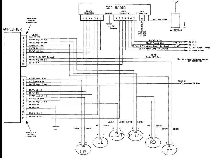 Kenwood Kdc 152 Wiring Diagram RIG 45 Pinterest