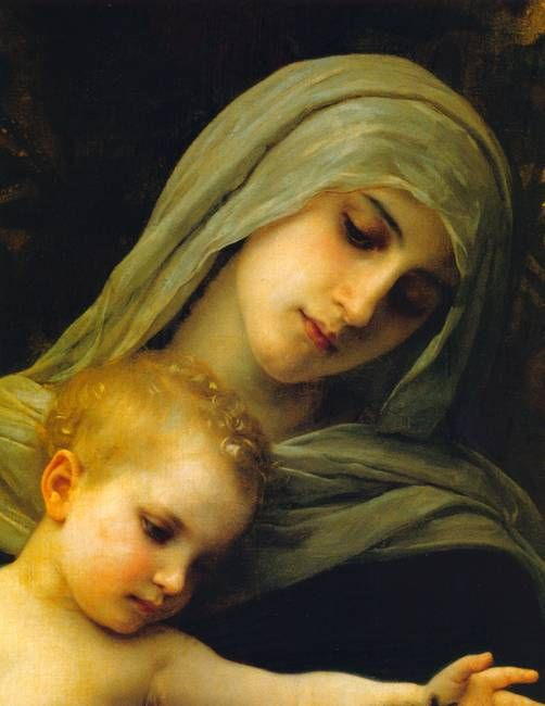 Virgin & Child Jesus by Catholic Art