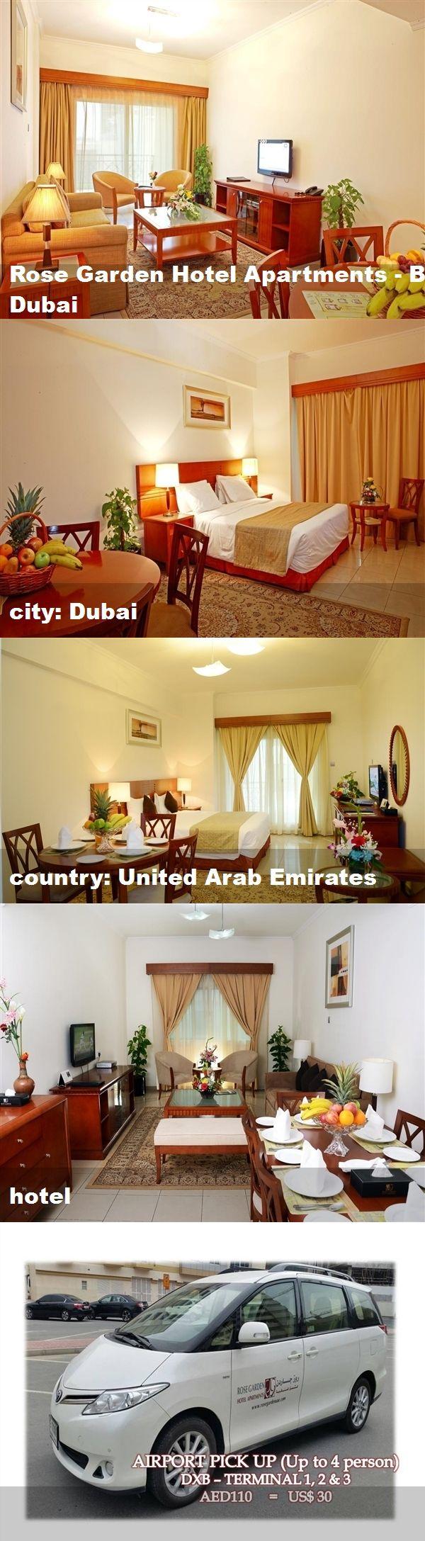Rose Garden Hotel Apartments Bur Dubai City Dubai Country