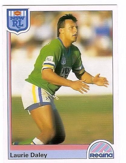 FLASHBACK: Canberra Raiders legend Laurie Daley.