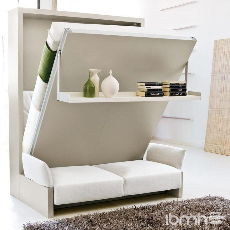 M s de 25 ideas incre bles sobre cama plegable ikea en for Camas ocultas en muebles