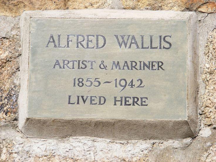 Alfred Wallis. Artist, mariner, madman, lived here 3 Back Road West, St Ives